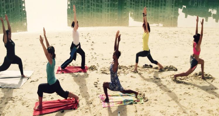me teaching yoga copy